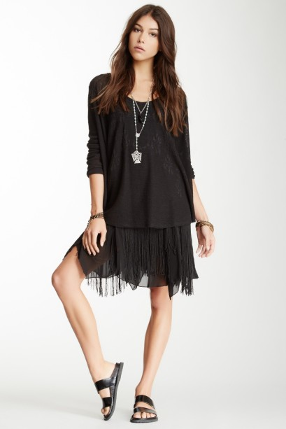 Free People Foam of Daze Fringe Lace Skirt, $59 at Hautelook and Nordstrom Rack