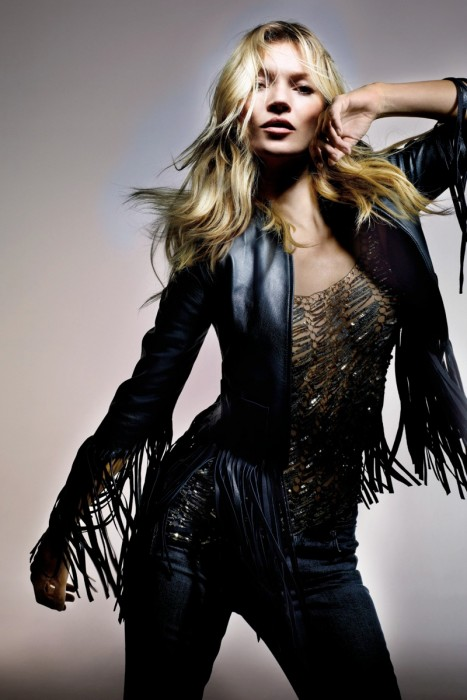Kate Moss for Topshop photographed by Nick Knight
