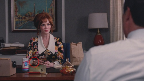 Joan Bangle Mad Men Season 7 Episode 12 Circled