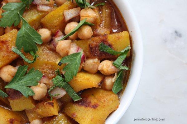 Moroccan Delicata Soup -2