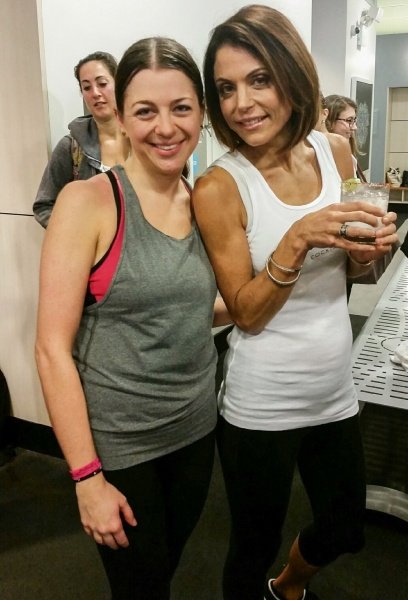 Skinnygirl Cycling and Cocktails Bethenny 2015