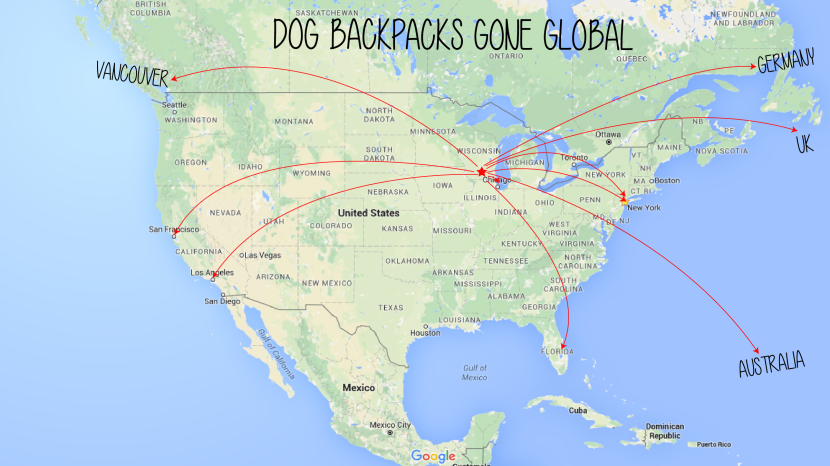 DOG PACK MAP