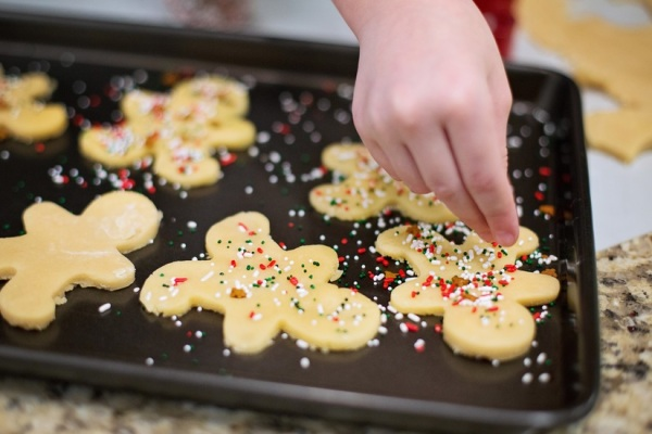 holiday baking stock